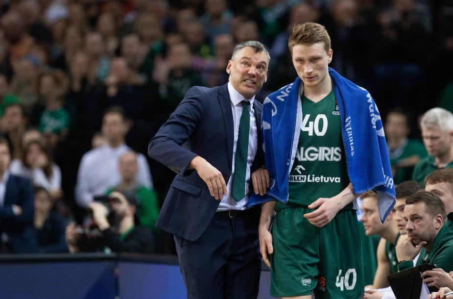 Šarūnas Jasikevičius ir Marius Grigonis