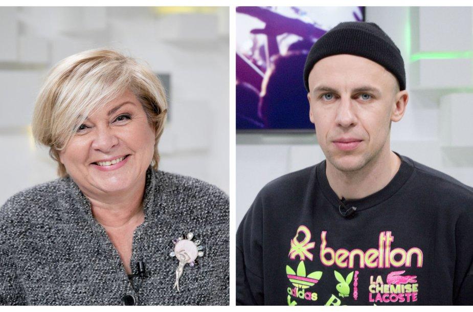 Edita Mildažytė ir Vidas Bareikis