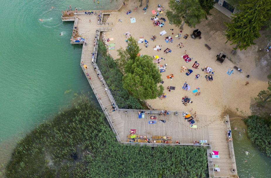 Žaliųjų ežerų paplūdimys