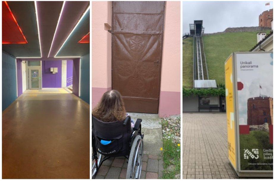 Vieną dieną Vilniuje... su ratukais. Ar miestas draugiškas judantiems vežimėliu?