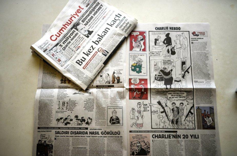 Cumhuriyet karikatūros