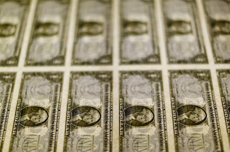 JAV dolerio kupiūros