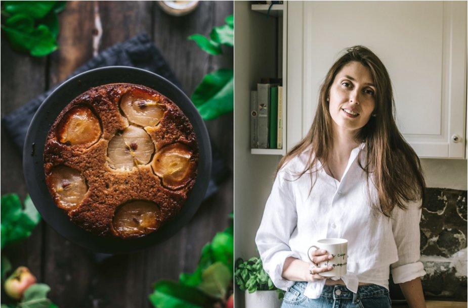 Tinklaraštininkė Jurgita ir jos keptas pyragas