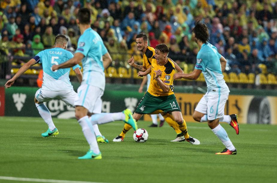 Pasaulio čempionato atrankos startas: Lietuva – Slovėnija