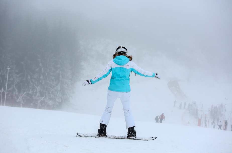 Liepkalnio slidinėjimo trasoje