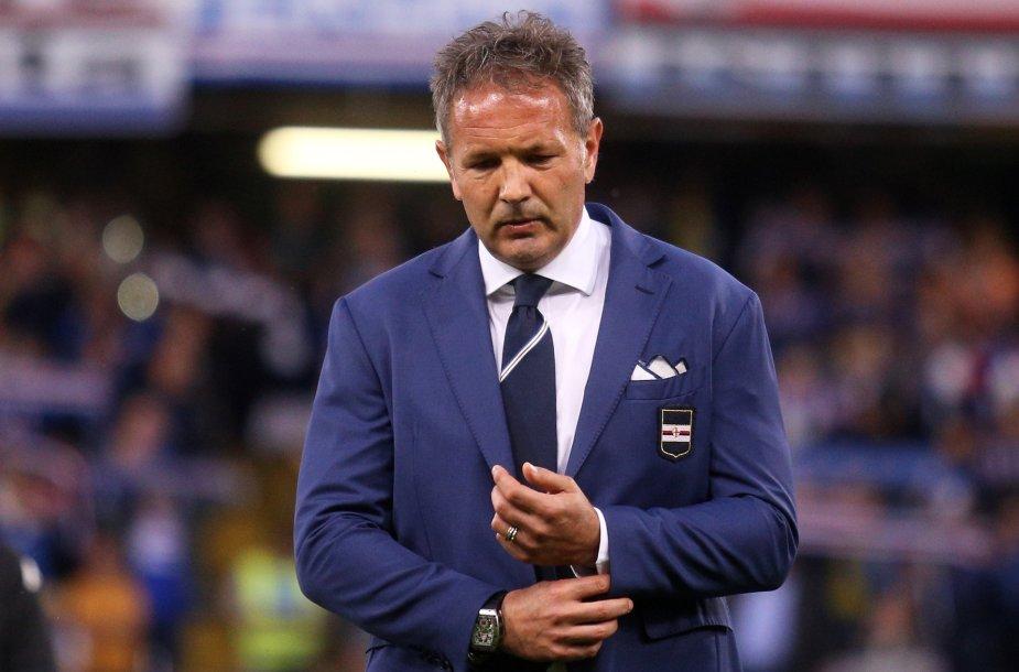 """""""Sampdoria"""" treneris Sinisa Mihajlovičius"""