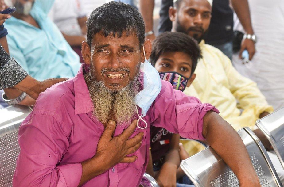 Nukentėjusieji per sprogimą Bangladeše