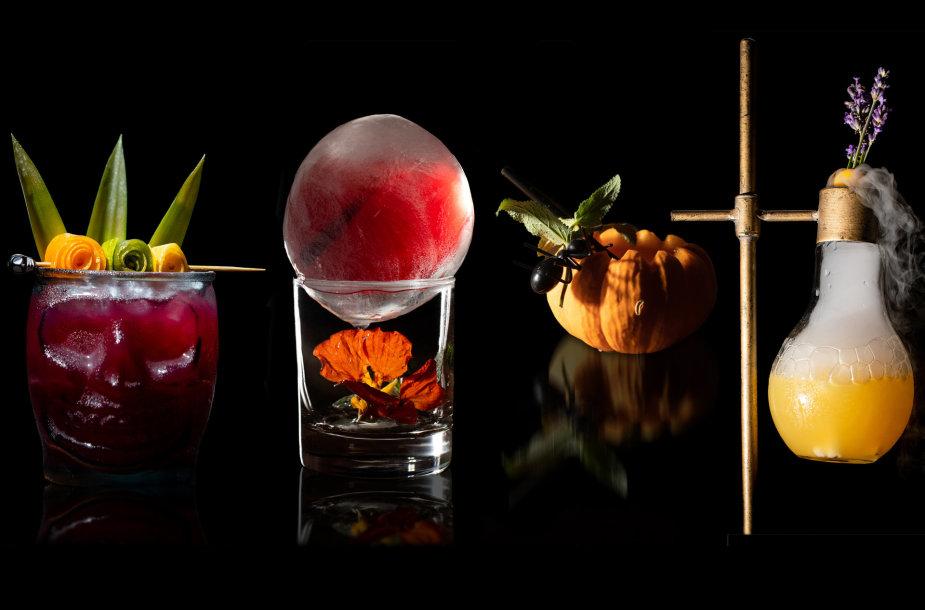 Kokteiliai su naminiai sirupais