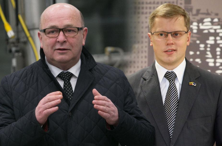 Visvaldas Matijošaitis ir Andrius Kupčinskas