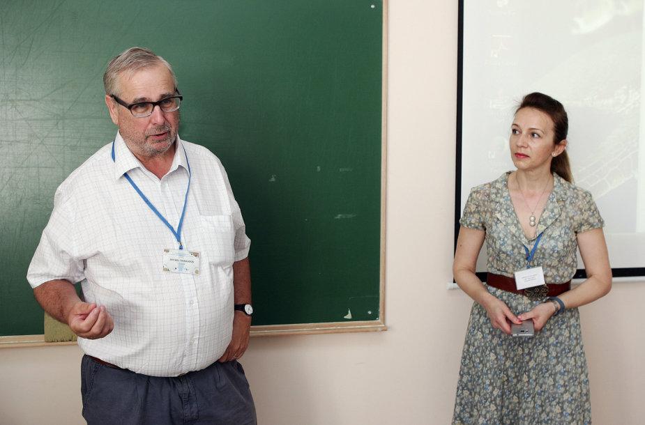Dr. M.Thibaudon ir dr. Ingrida Šaulienė