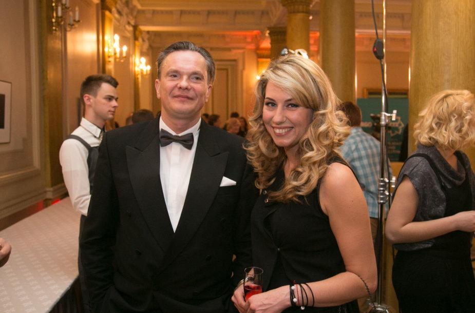 Eitvydas Bajarūnas ir Giedrė Žickytė