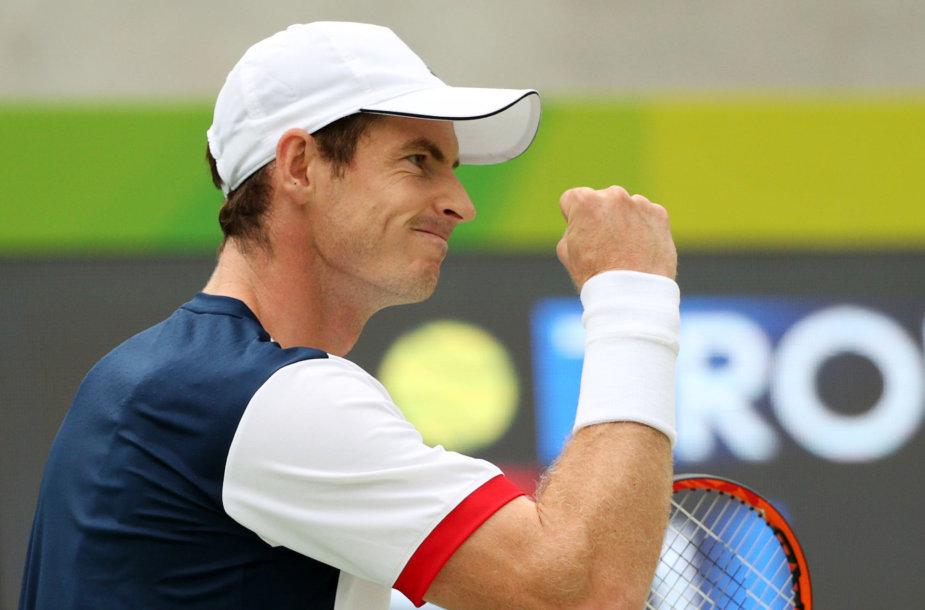 Andy Murray prieš Viktorą Troickį
