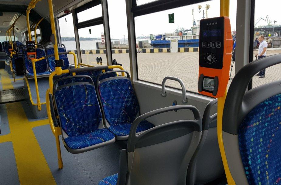 Klaipėdos gatvėmis riedės naujutėlaičiai autobusai