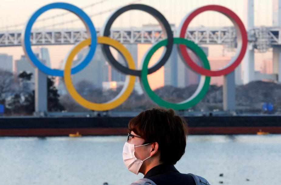 Tokijo žaidynių dalyviams bus privalomi koronaviruso testai