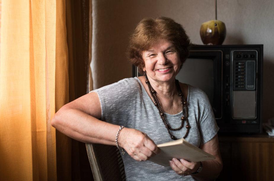 Milda Graužinis savo bute Montevidėjuje