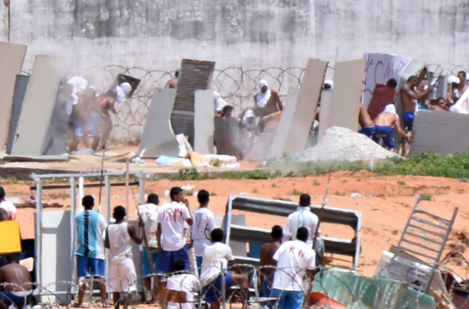Maištas Brazilijos  Alcacuzo kalėjime