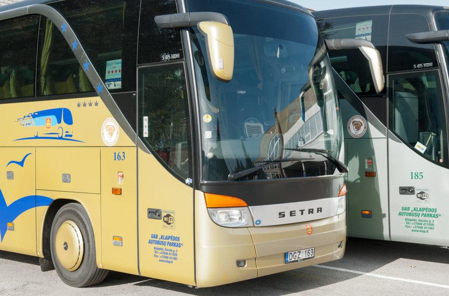 Klaipėdos autobusų parkas