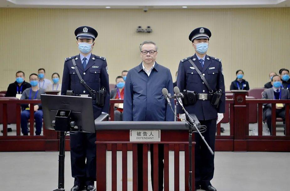 Lai Xiaominas teismo metu