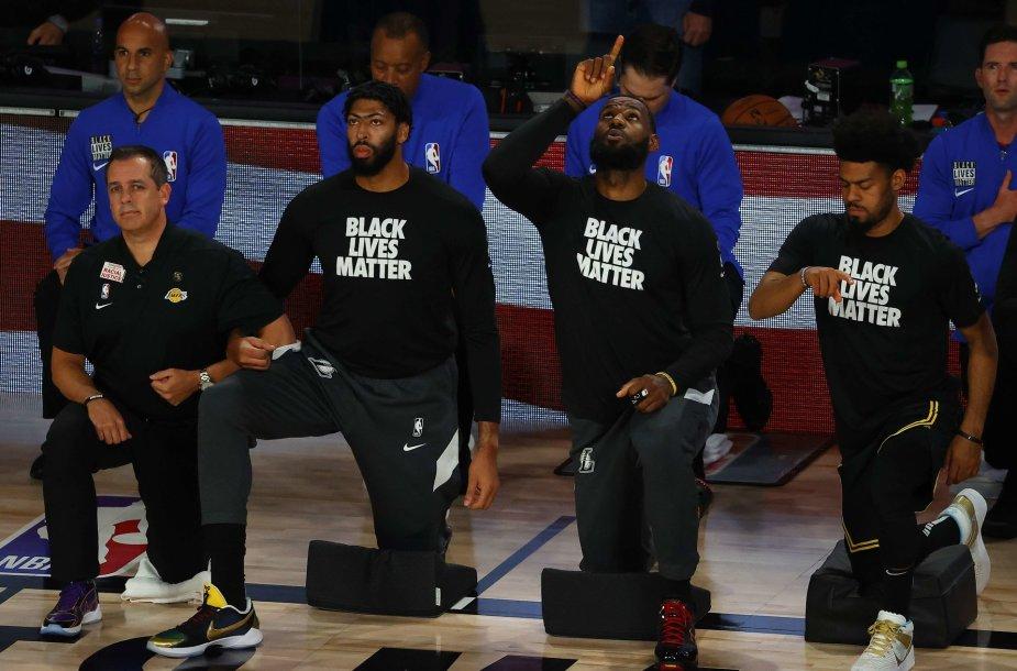 """""""Los Angeles Lakers"""" krepšininkai"""
