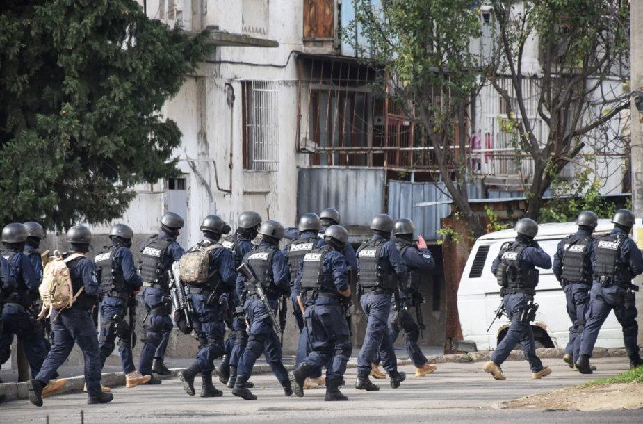 Antiteroristinė operacija Tbilisilyje vyko visą trečiadienį