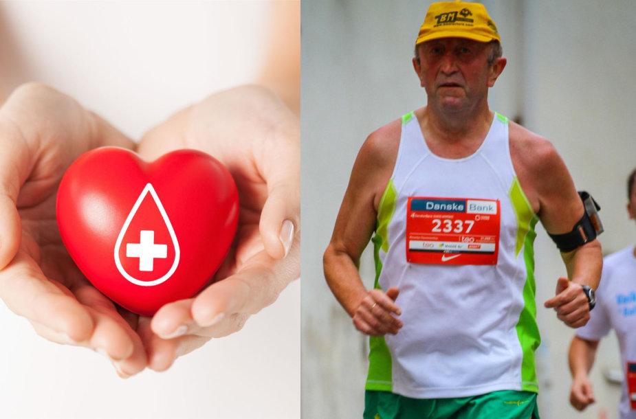 Kraujo donoras Rimantas Daunoravičius