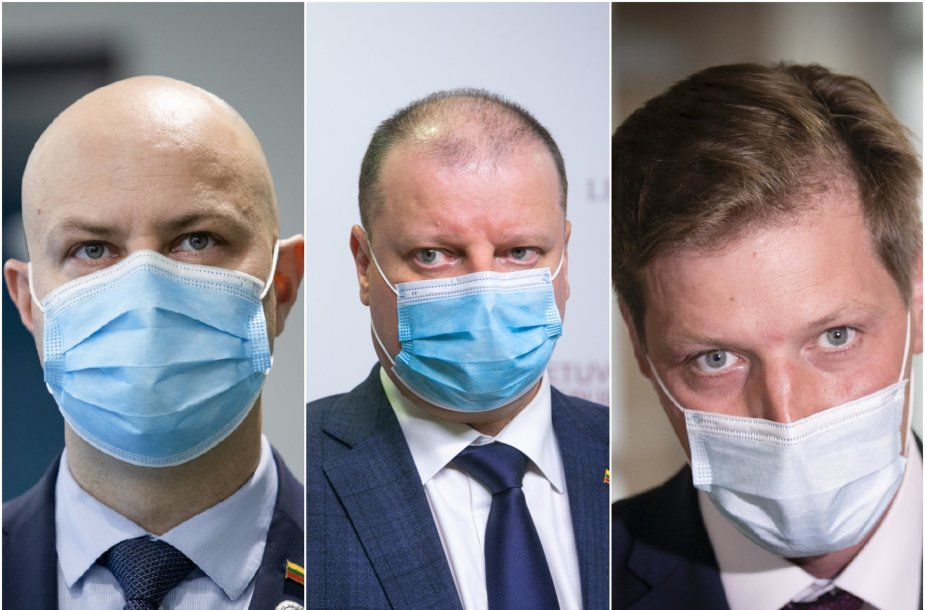 Aurelijus Veryga, Saulius Skvernelis, Kęstutis Mažeika