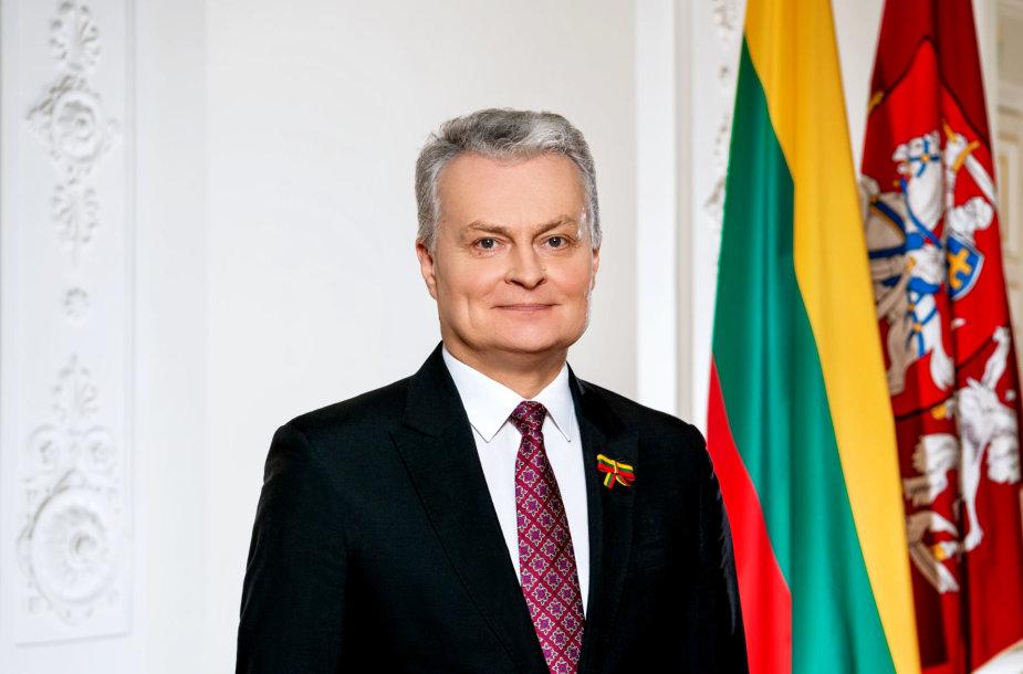 Lietuvos Respublikos orezidentas Gitanas Nausėda