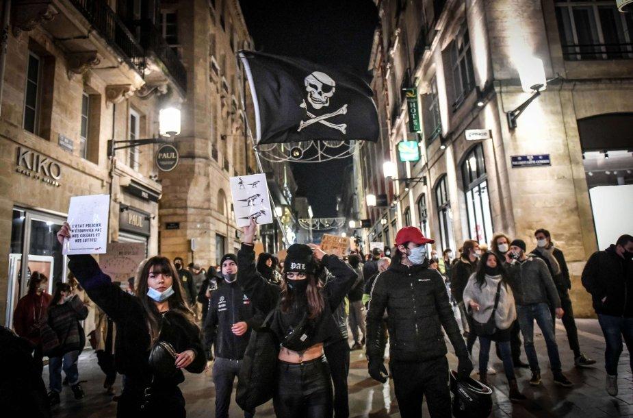 Demonstracija prieš Globalaus saugumo įstatymą