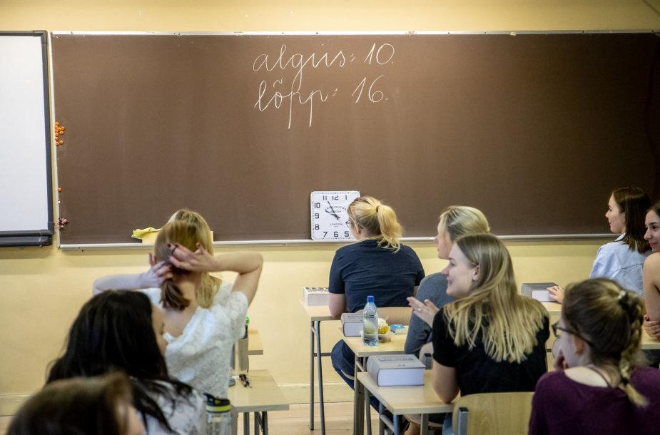 Mokiniai Estijoje