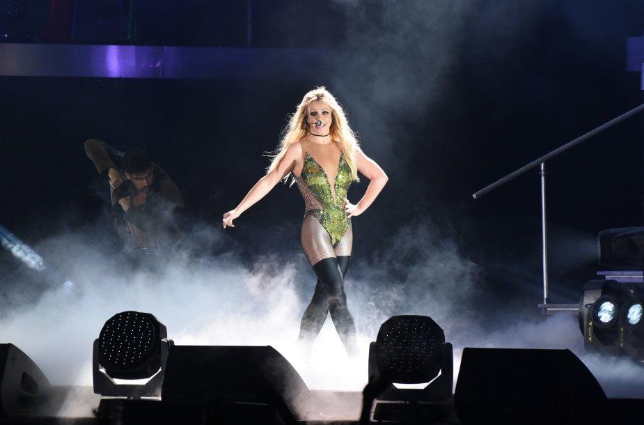 Britney Spears koncerto akimirka