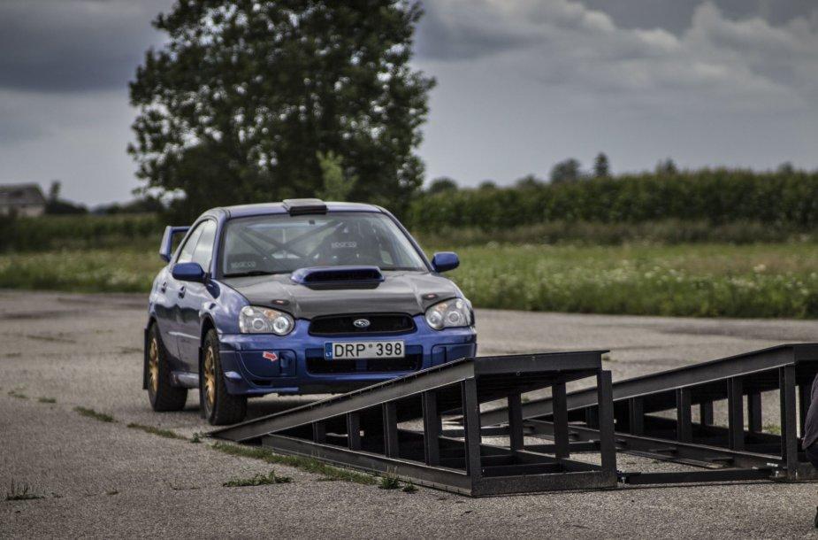 """Renaldo Šeinausko """"Subaru Impreza WRX"""""""