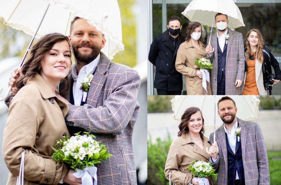 Filipo Gusevo ir Marijos Trapkevič vestuvės