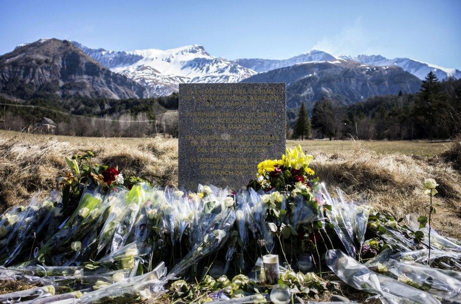 """""""Germanwings"""" katastrofos vietoje"""