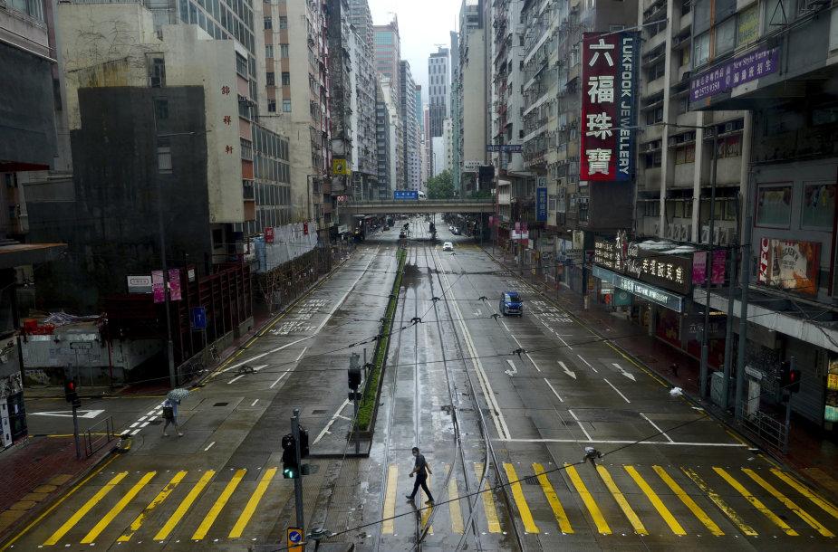 Ištuštėjęs Honkongas