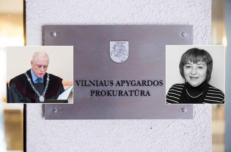Viktoras Aidukas ir Rita Aliukonienė