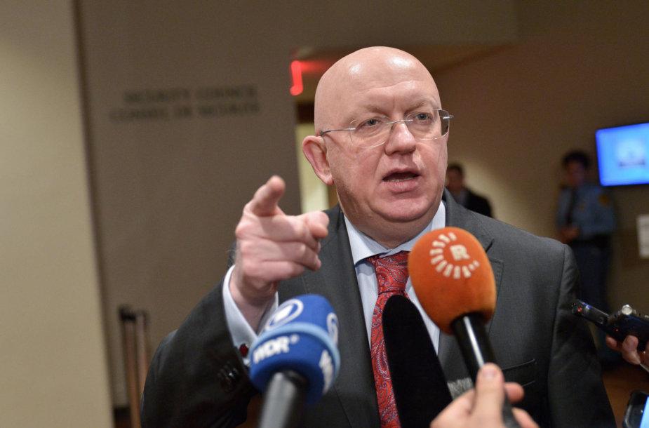 Rusijos ambasadorius JT Vasilijus Nebenzia