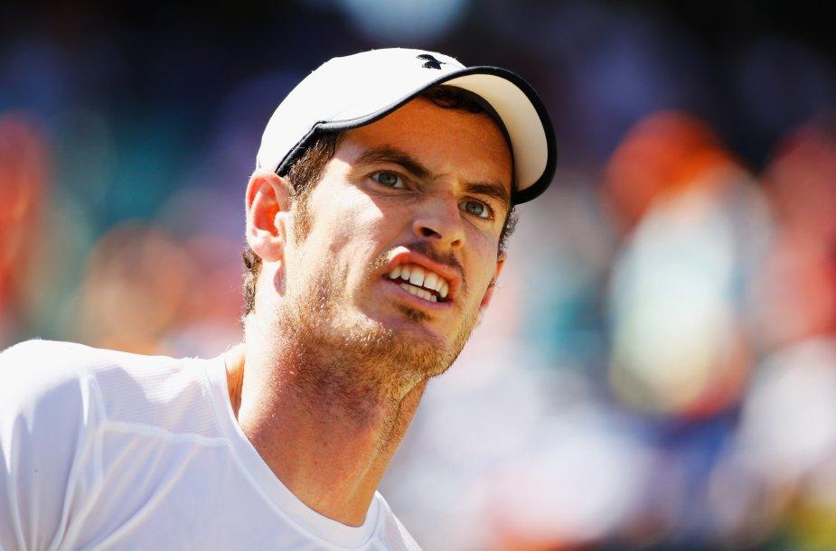 Andy Murray per visą karjerą dar nėra laimėjęs turnyro ant grunto