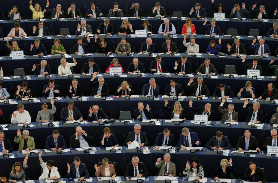 Balsavimas EP