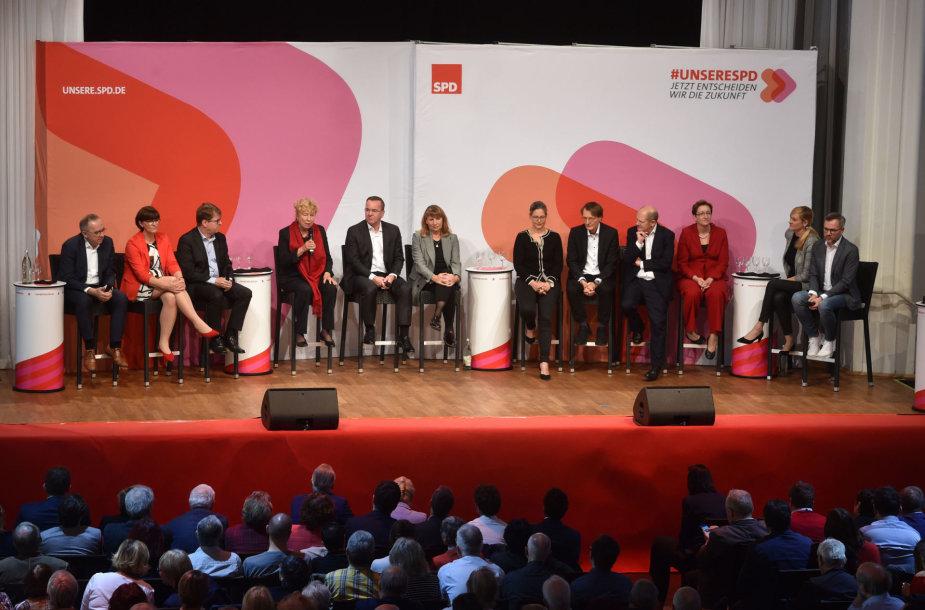 Kandidatų į Vokietijos socialdemokratų partijos poros