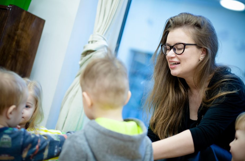 Renata Lazdin moka įkvėpti vaikus