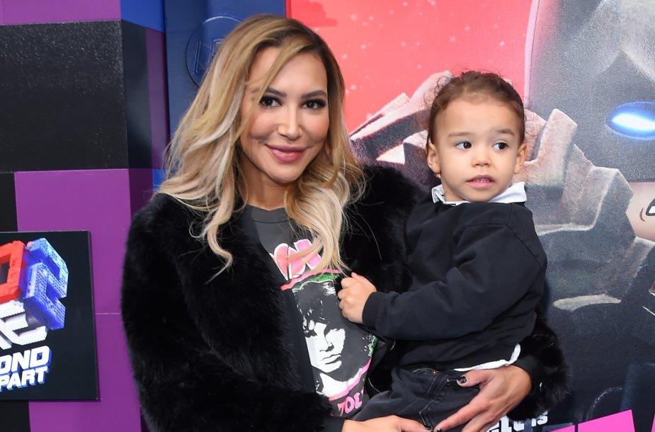 Naya Rivera su sūnumi
