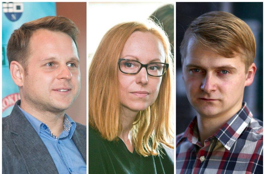 Pretendentai laimėti Lietuvos metų kino režisieriaus titulą
