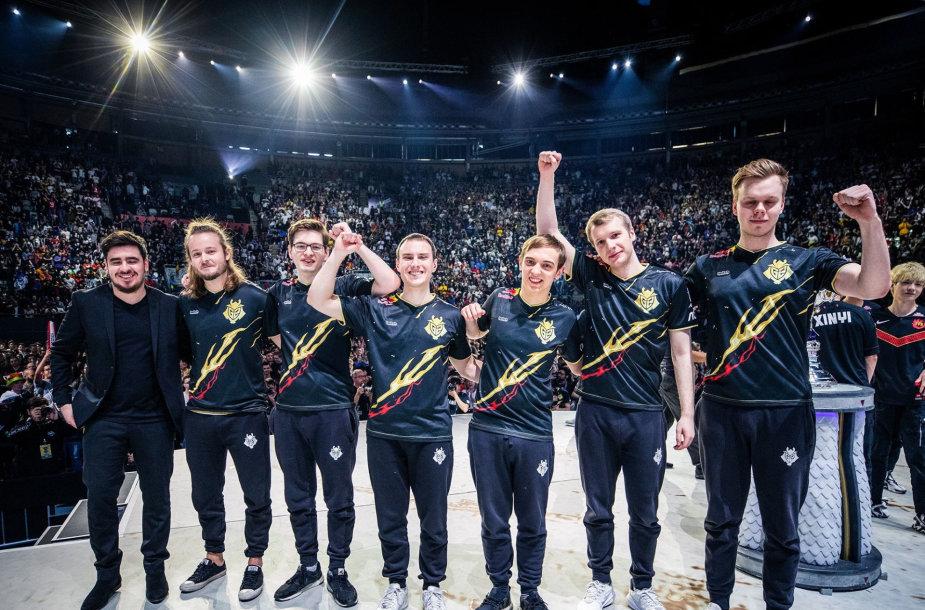 """""""G2 Esports"""" komanda pateko į pasaulio čempionato finalą"""