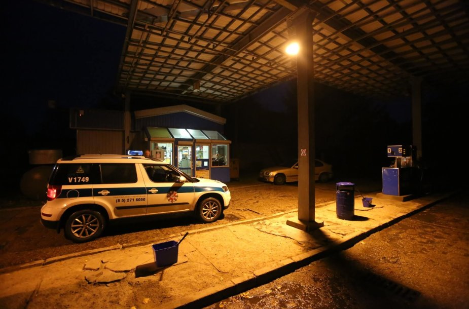Žmonės sulaikė neblaivų BMW vairuotoją