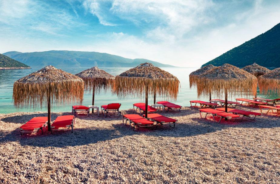 Antisamos paplūdimys, Graikija