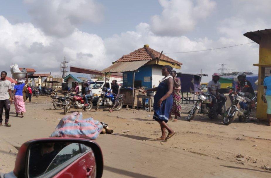 Klaipėdiečio fiksuoti vaizdai Ganos sostinėje Akroje