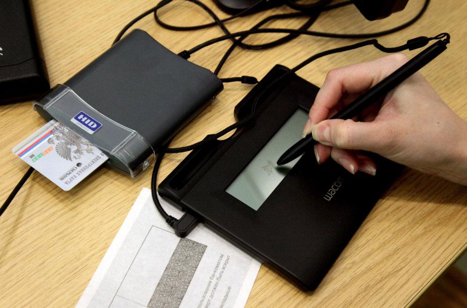 Elektroniniu būdu pasirašinėjamas asmens dokumentas