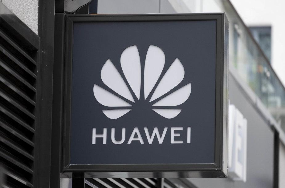 """""""Huawei"""" iškaba"""