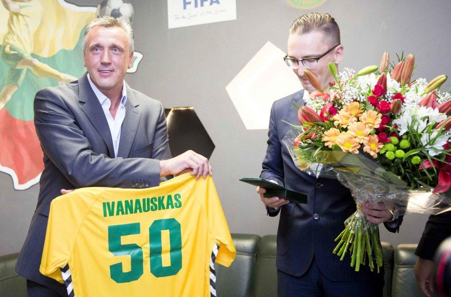 Valdas Ivanauskas ir Edvinas Eimontas