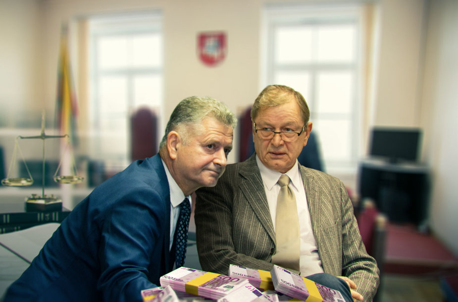 Valdimaras Bavėjanas ir  Valys Venslovas
